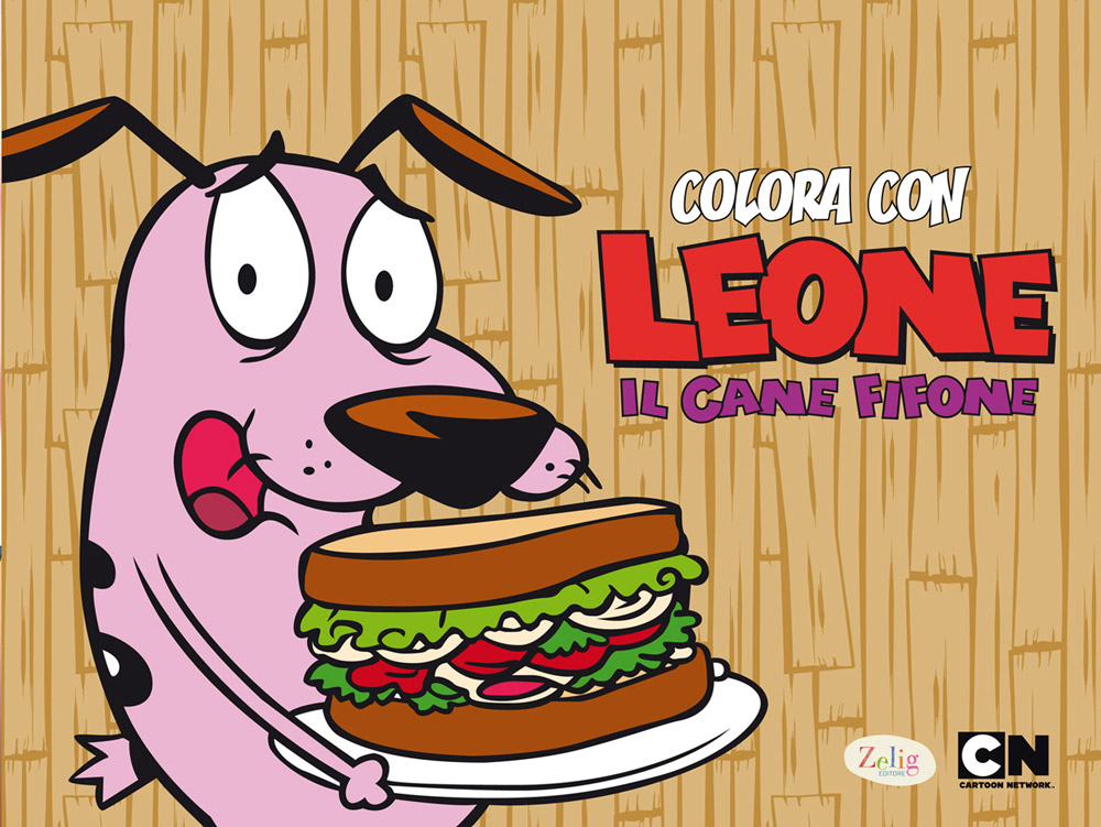 John R. Dilworth – Colora con Leone Cane Fifone 3