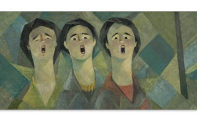 quadro di Seif Wanly (1906 –  1979)