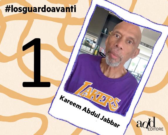 Kareem Abdul-Jabbar saluta Italia