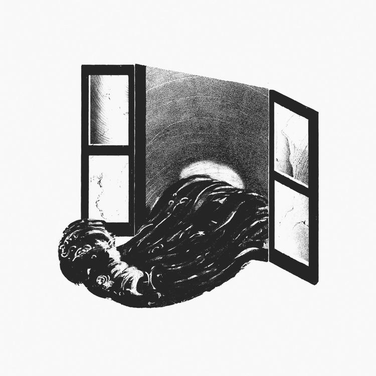 Risografia di Alberto Fiocco – Marut davanti al mare